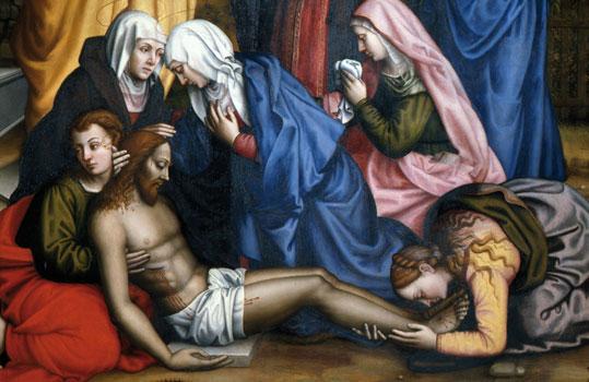 il compianto sul cristo morto